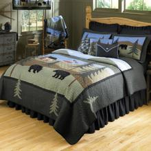 Bear Lake - Quilted Bedding Collection