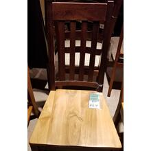 Two-tone Slat Side Chair