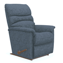 Coleman Rocking Recliner in Navy        (10-508-B175286,40135)