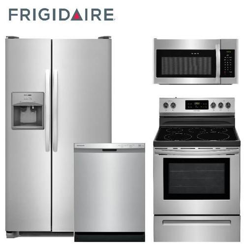 Frigidaire Classic Stainless 4-piece Kitchen Package