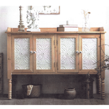See Details - WINONA Reclaimed Rustic Pine & White Finish Wood Cabinet       (AFN402NS,53118)