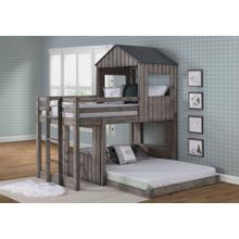 Twin-Full Campsite Loft Bed