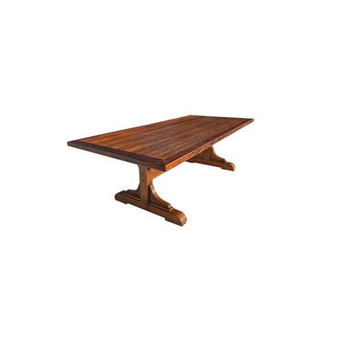 Barnwood testle Table