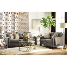 See Details - Ashley 423 Daylon Graphite Sofa and Love