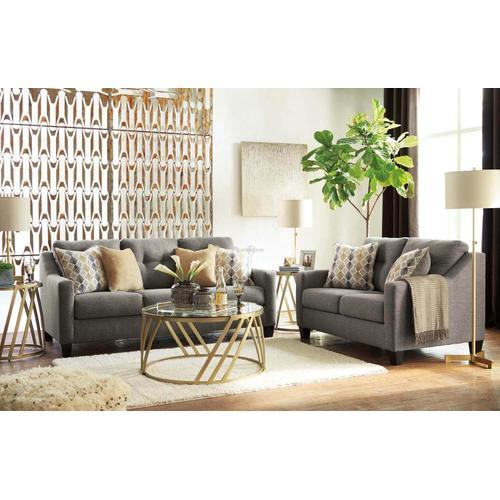 Ashley 423 Daylon Graphite Sofa and Love