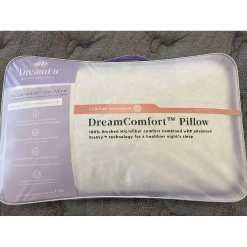 DreamComfort Standard/Queen Reversible Pillow