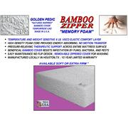 "Bamboo Zipper 10"" Memory Foam - King Product Image"