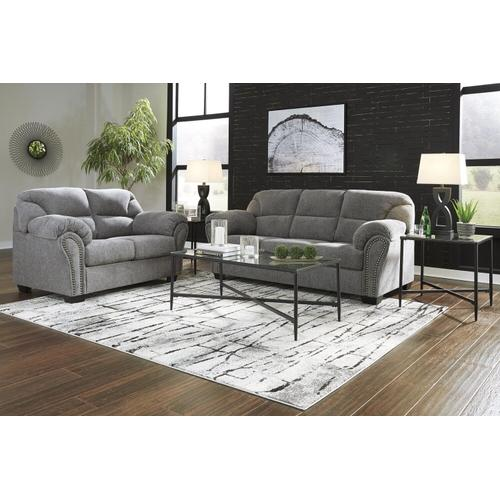 Ashley 281 Allmaxx Pewter Sofa and Love