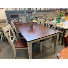 5 Piece Cherry Top Dining Set