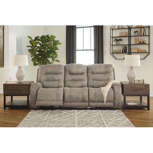 Ashley Furniture - Yacolt Power Reclining Sofa with Power Headrest