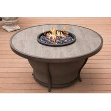 "Agio International Hanover 48"" Round Porcelain Fire Pit"