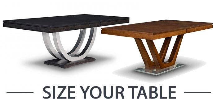 Size your table