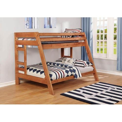 Coaster - Wrangle Hill Twin Over Full Bunk Bed