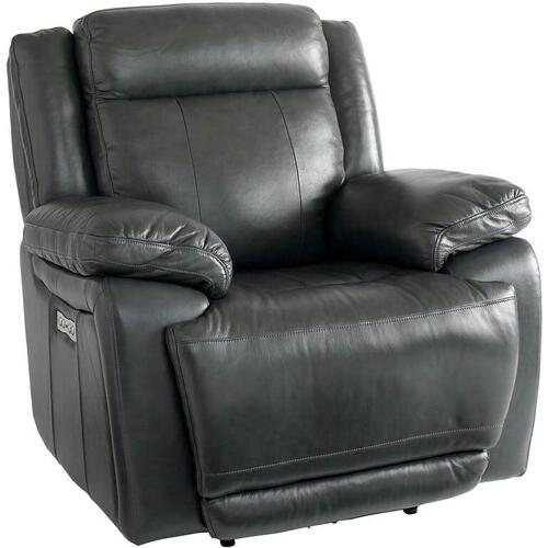 Evo Graphite Wallsaver Recliner with Power