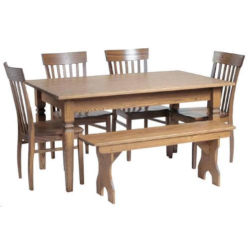 Estate Shaker 5' Farm Table