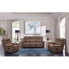 Cheers Leather Glider Recliner