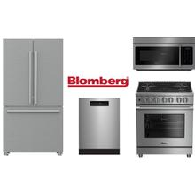 Blomberg 4 Piece with Gas Range