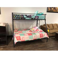 Coaster Twin/ Full Bunkbed with Mattresses