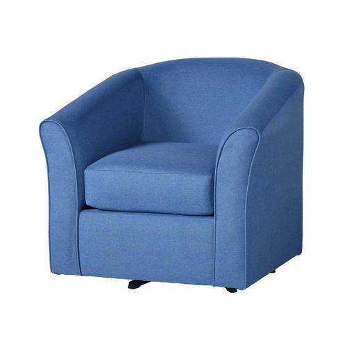 89 Swivel Chair Denim