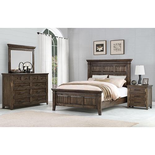 Daphne Queen Panel Bed