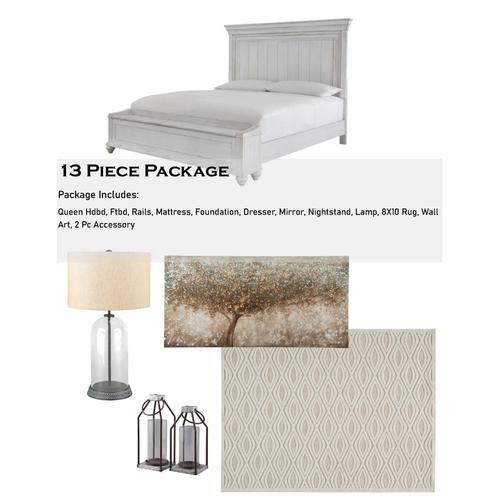 Kanwyn 13 Piece Bedroom Package