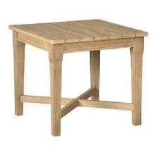 Square Outdoor End Table