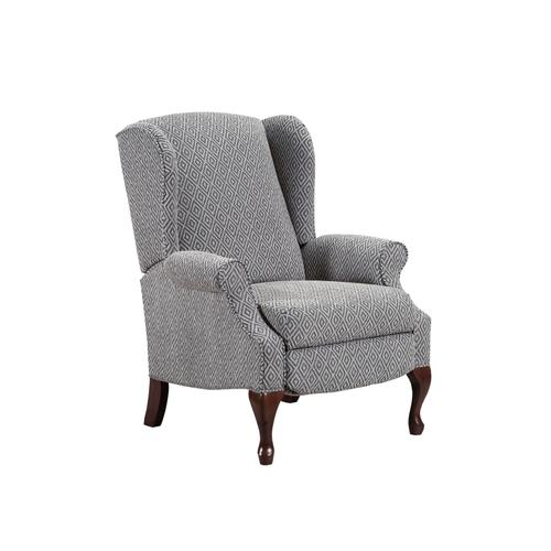 UNITED 6002PT Parsley Taupe Hi Leg Recliner