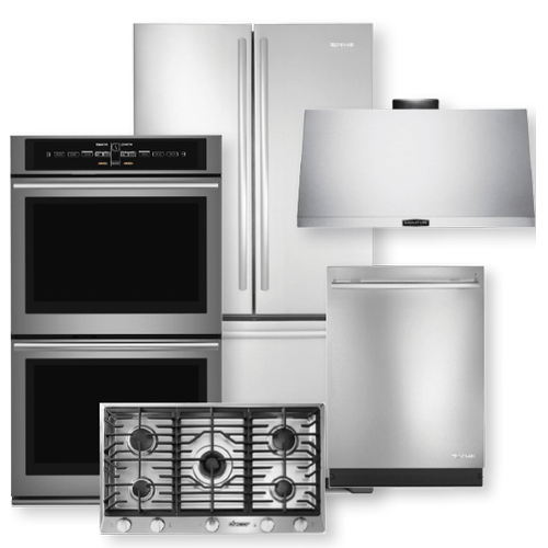 Stainless Steel French Door Refrigerator 5 Piece Package- Open Box