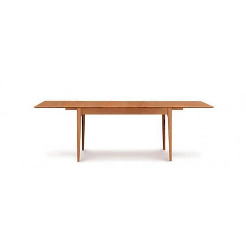 SARAH FOUR LEG EXTENSION TABLES WITH EASYSTOW EXTENSION AND LEAF STORAGE
