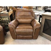 POWER LEATHER RECLINER POWER HEADREST AND LUMBAR