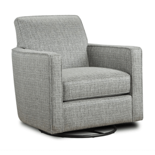 Deja Vu Swivel Accent Chair
