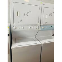 USED- Frigidaire Washer/Dryer Laundry Center Gas STACK27G-U Serial #2