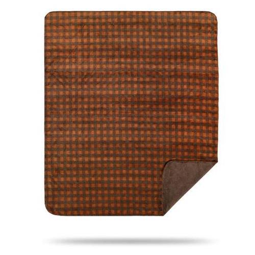 Denali Blankets - Gold Taupe Buffalo Check