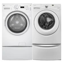 4.2 cu. ft. Front Load Washer & 7.0 cu. ft. capacity Electric Dryer in White- Open Box