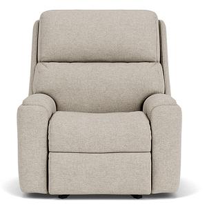 Flexsteel - Rio Fabric Power Rocker Recliner w/ Tilt Headrest - 818-01