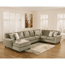 See Details - Patola Park - Patina - 4-Piece Sectional with Left Facing Chaise