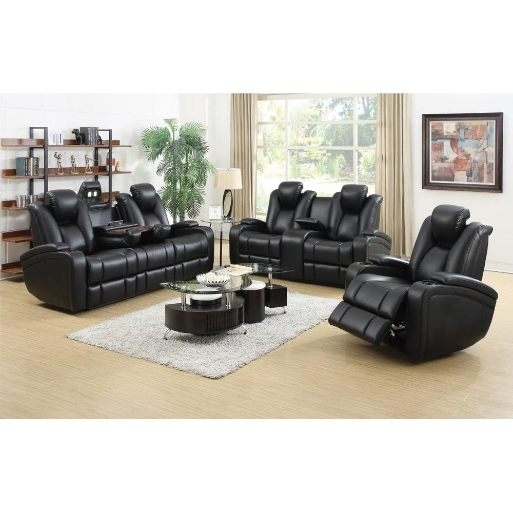 Delange Power Sofa and Love Seat