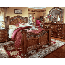 See Details - Full/Queen Mansion Bed, 4/6-5/0