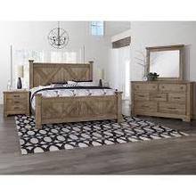 Cool Rustic X-Back Bedroom Group Set
