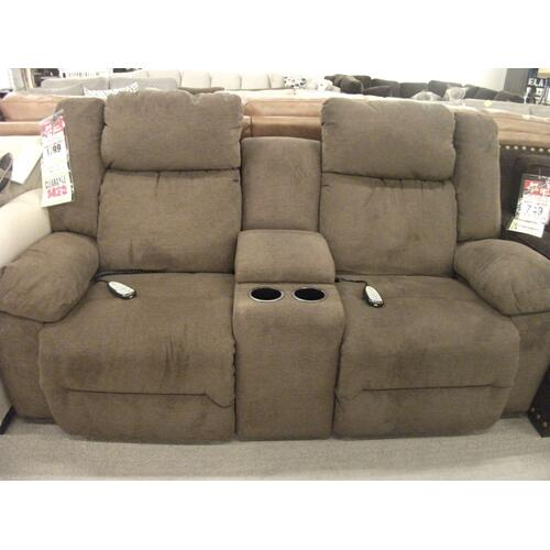 CLEARANCE POWER LOVESEAT
