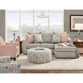 Glory Reversible Sectional Silver