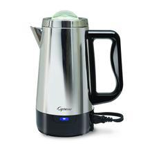 See Details - Capresso 8-Cup Perk Stainless Steel Coffee Maker