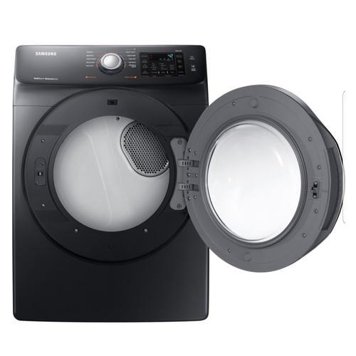 Samsung - 7.5 CU FT, BLACK STAINLESS STEEL