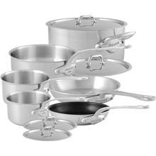 Mauviel M'Urban Stainless Steel Tri-Ply Cookware 10-Piece Set