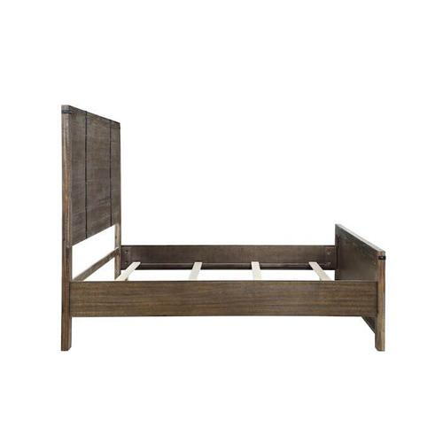 New Classic Furniture - Galleon Queen Footboard - Weathered Walnut