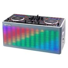 Gemini Portable DJ Mixer with Built-in Speaker