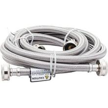 See Details - Stainless-Steel Washer Hose (2-Pack)