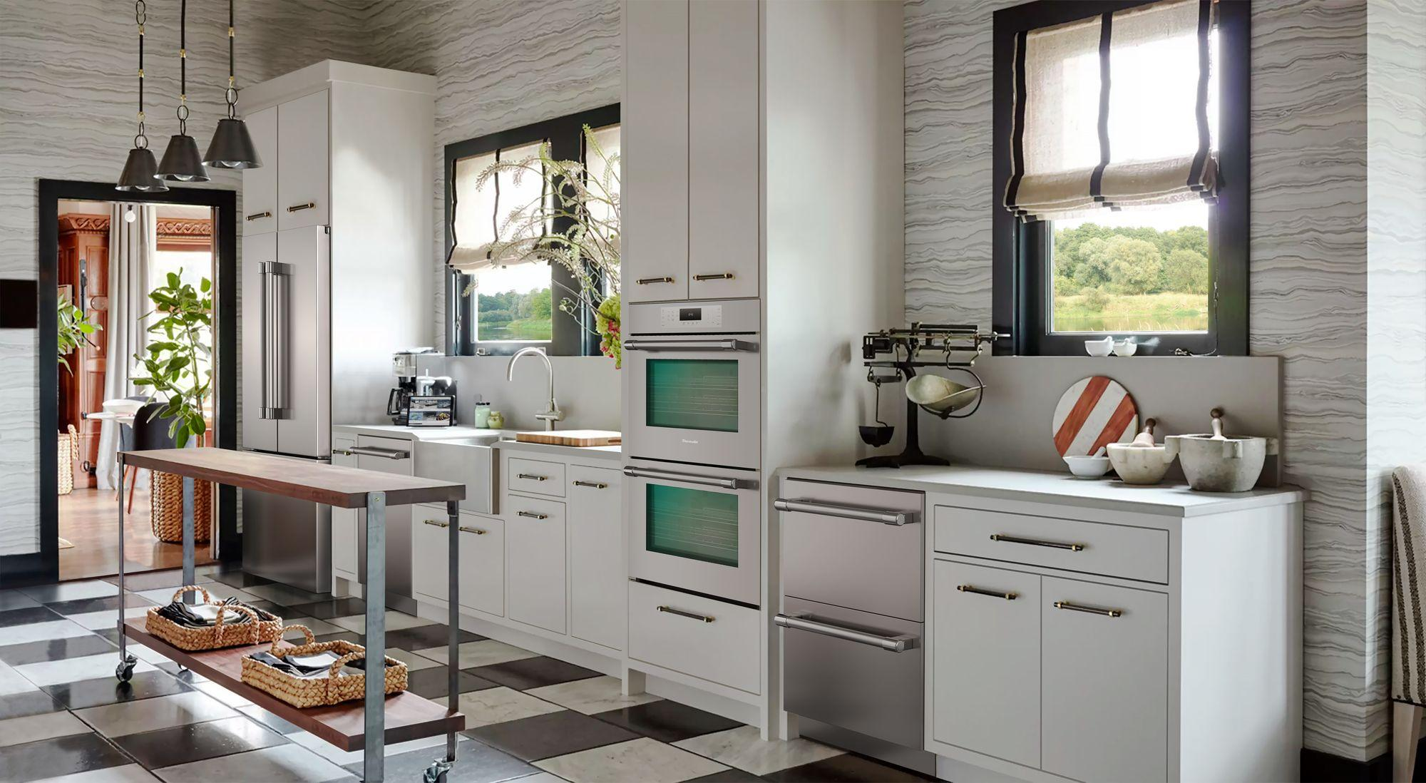 Me302yp Thermador Double Wall Oven 30 Stainless Steel Me302yp Manuel Joseph Appliance Center
