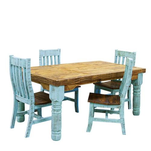 L.M.T. Rustic and Western Imports - 6' Turquoise Table