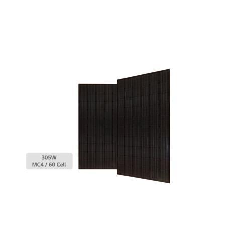 LG - High Efficiency LG NeON® 2 Black Module Cells: 6 x 10 Module efficiency 18.6% Connector Type: MC4, MC4 Compatible, IP67